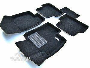 Автомобильные коврики Novline-Autofamily Коврики 3D в салон VW Tiguan. - фото 7