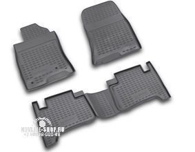 Коврики в салон TOYOTA Land Cruiser Prado 01/2003-12/2009, 4 шт.(полиуретан)